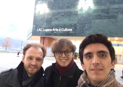 Dopo il debutto alla guida dell'OSI con Andreas Beraldo e Mateo Sepulveda Rios